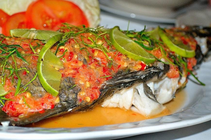 Рецепт рыба филе с овощами